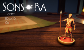 Sons of Ra title screen